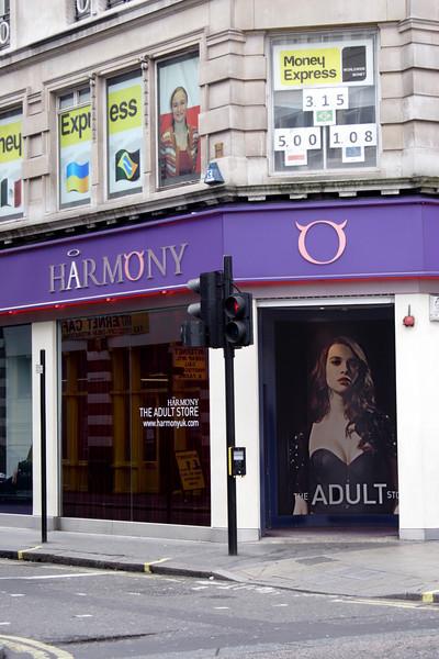 Harmony store Oxford Street London May 2009