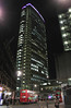 Centre Point London at night