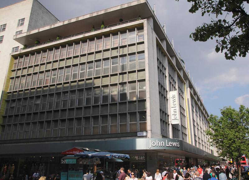 John Lewis Department Store Oxford Street London
