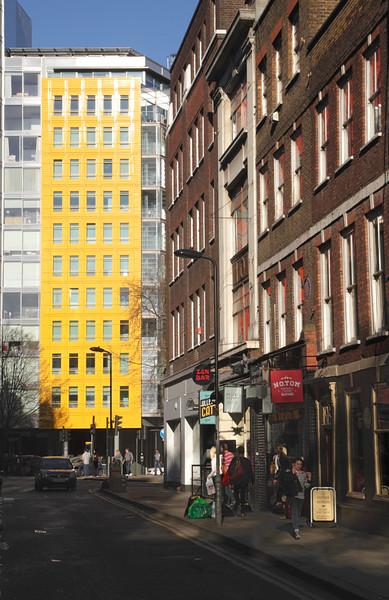Denmark Street in central London