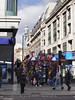 Kiosk at Oxford Street London February 2008