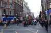 Oxford Street junction with Tottenham Court Road London Winter 2006
