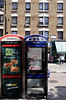Public phone boxes Charing Cross Road London May 2008