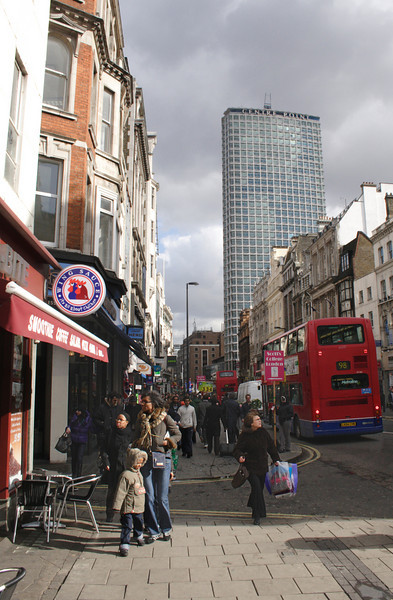 Oxford Street London February 2008