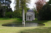 Ionic Temple and Obelisk Chiswick House Gardens London