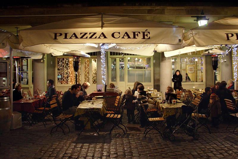 Covent Garden London Christmas 2008