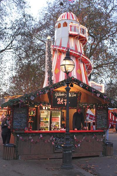 Helter Skelter at Winter Wonderland Hyde Park London Christmas 2011