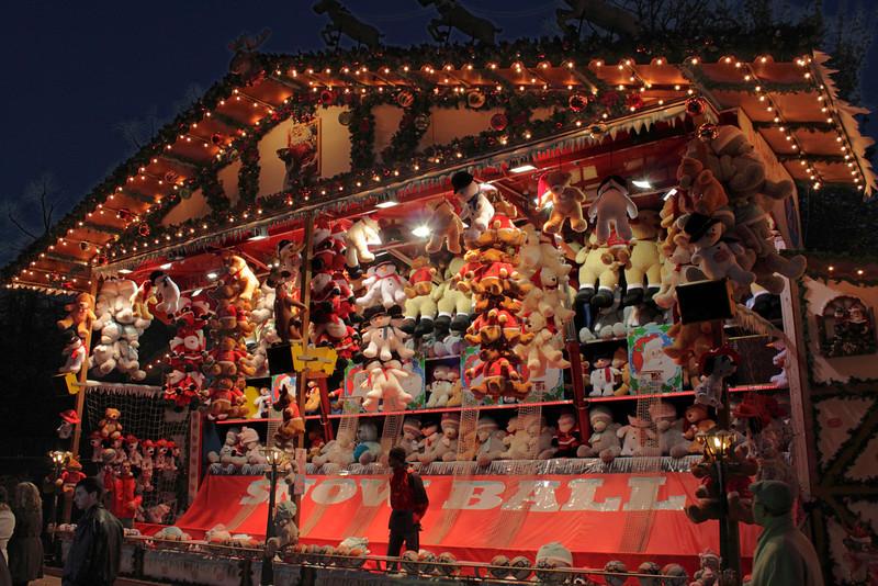 Winter Wonderland Hyde Park London Christmas 2011