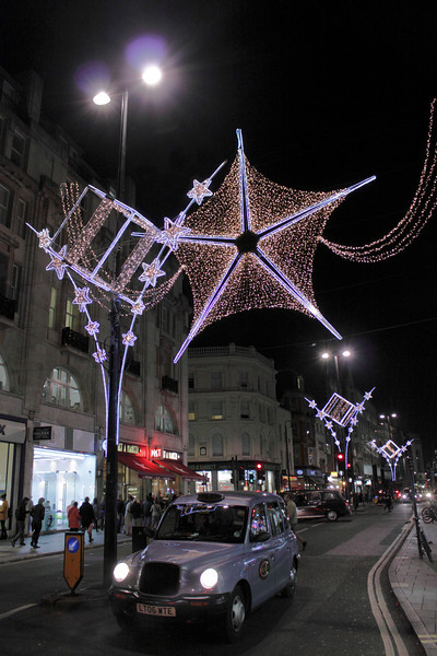 Oxford Street London Christmas 2011