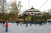 Ice Rink at Winter Wonderland Hyde Park London Christmas 2011