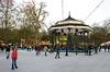Ice Rink at Winter Wonderland Hyde Park London Christmas 2011