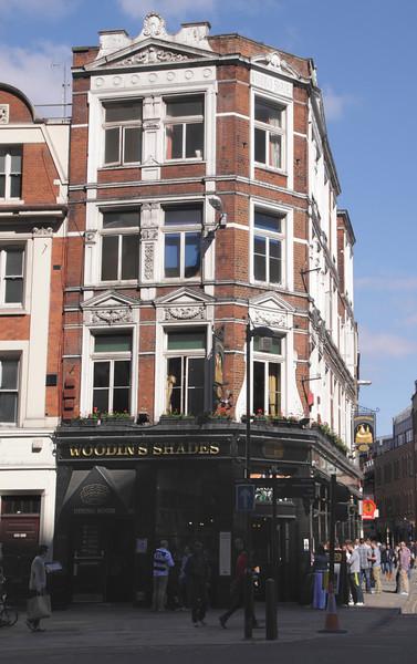 The Woodins Shades Pub Bishopsgate London