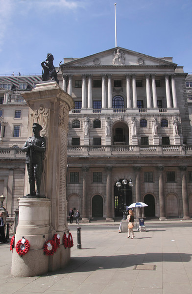 Bank of England London and World War One Memorial