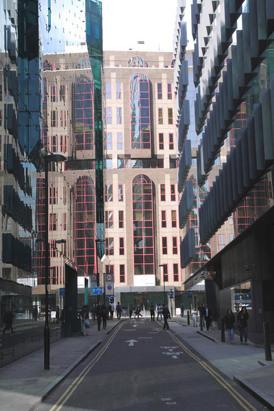 Moor Lane in the City of London