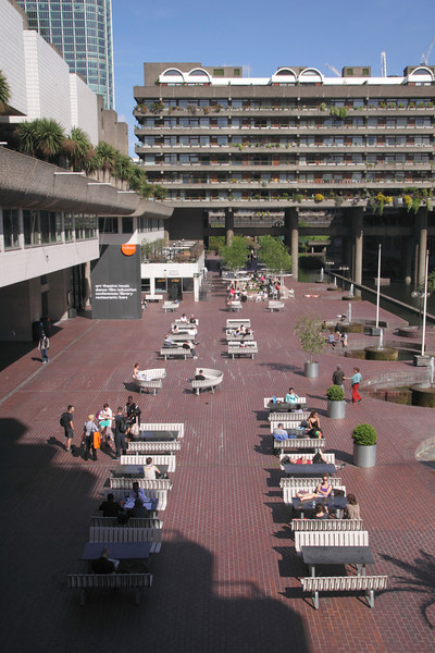 Barbican Arts Centre and residential complex London