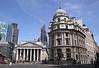 Cornhill and Threadneedle Street London