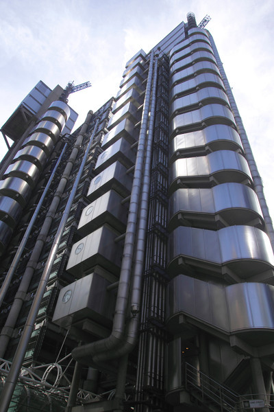 Lloyds building in the City of London