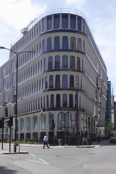 Credit Lyonnais bank at 30 Cannon Street London