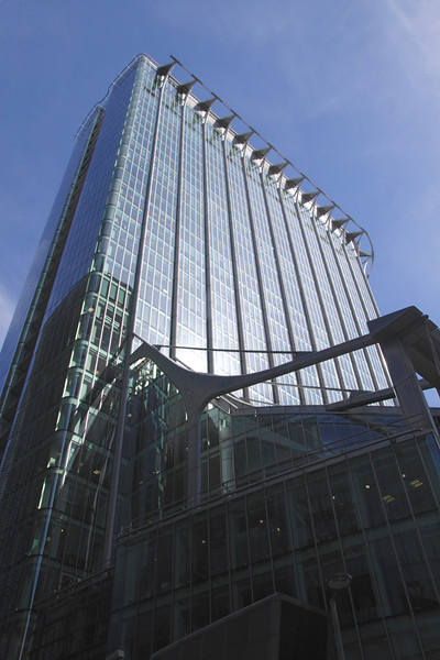Citypoint office building in the City of London