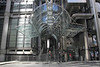 Entrance to Lloyds building in the City of London