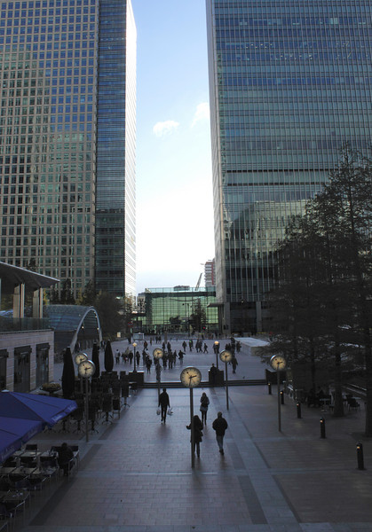 Canada Square Canary Wharf London