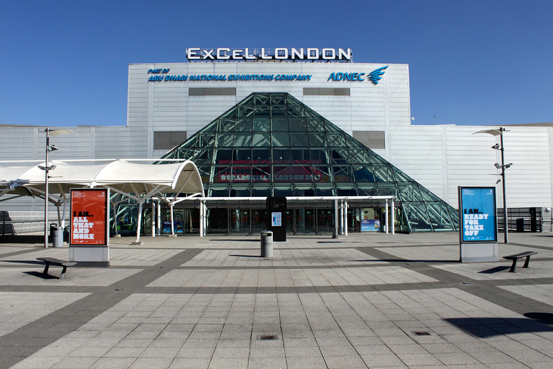 Excel Centre Royal Victoria Dock London