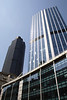 Modern Office building and Nat West Tower Bishopsgate London