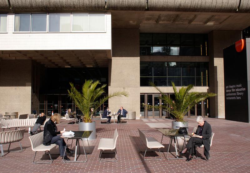 Entrance to Barbican arts centre London