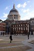 Paternoster Square and St Paul's Cathedral London