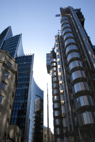 Willis Building and Lloyds Building London
