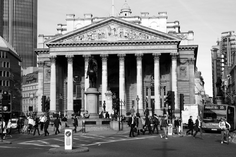 Royal Exchange Bank of England London