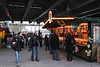 Confectionary and nut stall at Cologne Christmas Market South Bank London December 2009