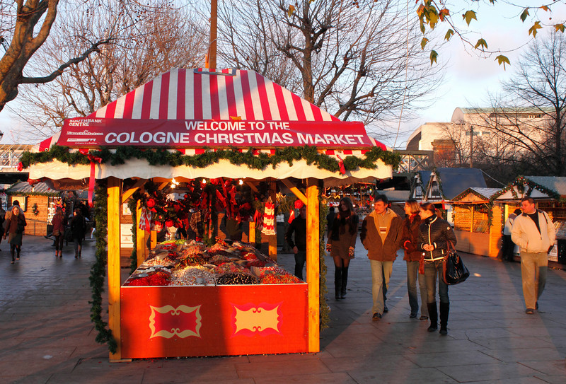 Cologne Christmas Market at the South Bank London December 2009