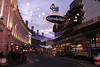 Christmas lights at Regents Street London December 2009