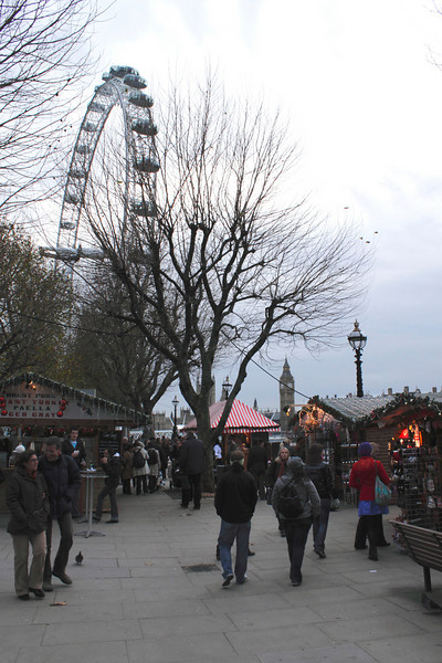 Cologne Christmas Market South Bank London December 2009