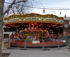 Carousel at Cologne Christmas Market South Bank London December 2009
