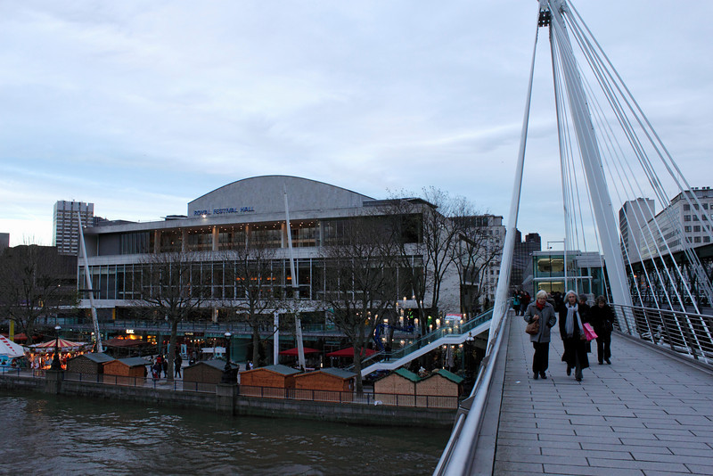 Royal Festival Hall and Cologne Christmas Market London December 2009