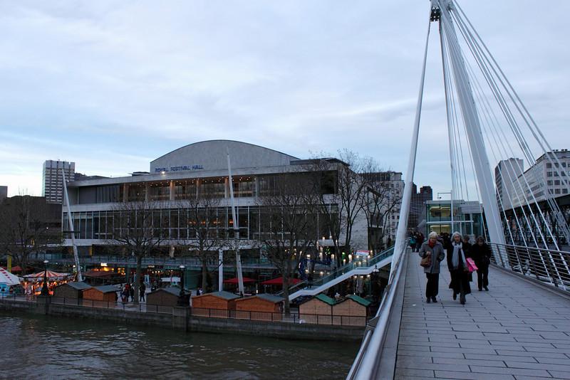 Royal Festival Hall and Cologne Christmas Market London December 2009
