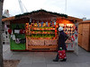 Stall at Cologne Christmas Market South Bank London December 2009