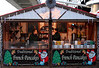 French Pancake stall at Cologne Christmas Market South Bank London December 2009