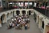 Crusting Pipe restaurant inside Covent Garden Market London July 2010