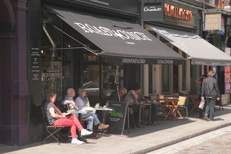 Hotel Chocolat Cocoa and Coffee Bar Monmouth Street Covent Garden London