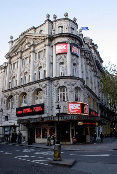 Novello Theatre Covent Garden London November 2008