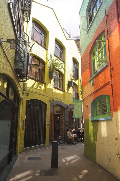 Neal's Yard Covent Garden London