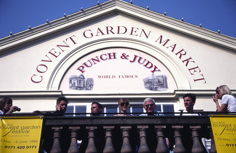 Punch and Judy bar Covent Garden London