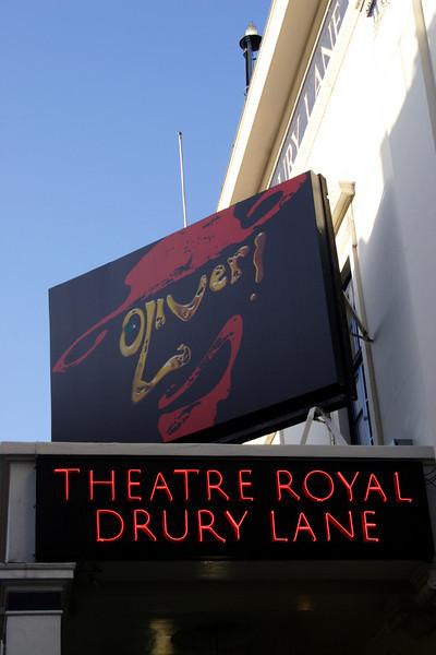 Theatre Royal Drury Lane London November 2008