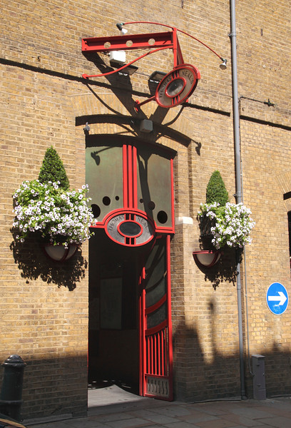 Entrance to Thomas Neal's shopping Mall Earlham Street Covent Garden London