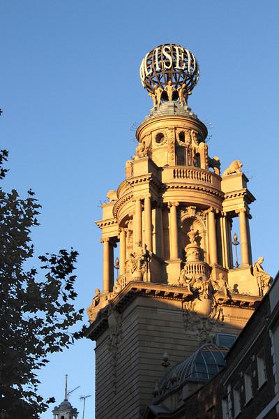 Tower of Coliseum Theatre London