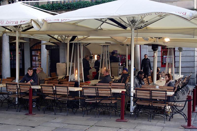 Cafe near Covent Garden Market London