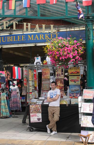 Jubilee Market Hall Covent Garden London July 2010